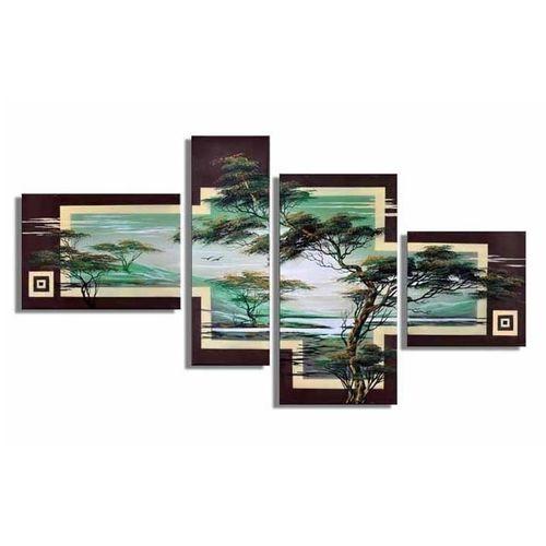 4 Leinwandbilder AFRIKA Baum (7) 120 x 70cm Handgemalt - 1