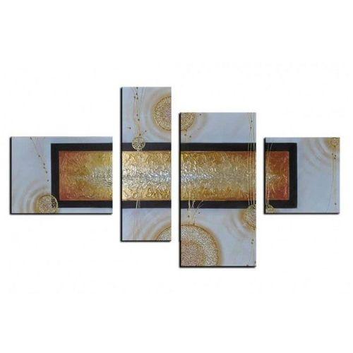 4 Leinwandbilder ABSTRAKTE KUNST (2) 120 x 70cm Handgemalt - 1