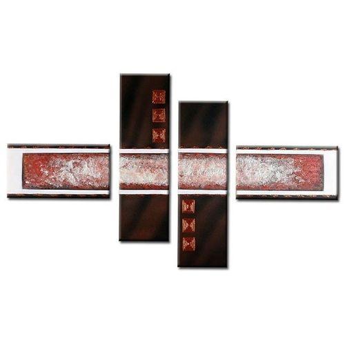 4 Leinwandbilder ABSTRAKTE KUNST (9) 120 x 70cm Handgemalt - 1