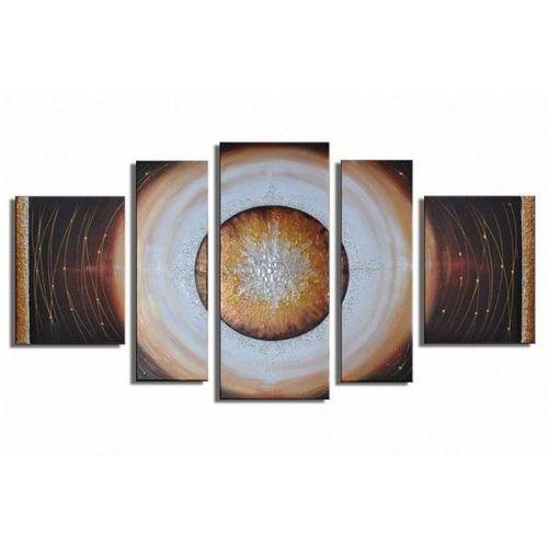 5 Leinwandbilder ABSTRAKTE KUNST (12) 130 x 70cm Handgemalt - 1