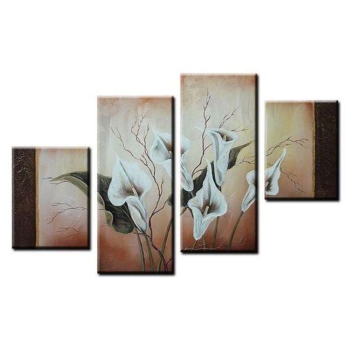 4 Leinwandbilder CALLAS (4) 120 x 80cm Handgemalt - 1