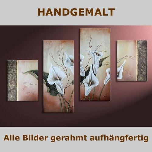 4 Leinwandbilder CALLAS (4) 120 x 80cm Handgemalt - 5