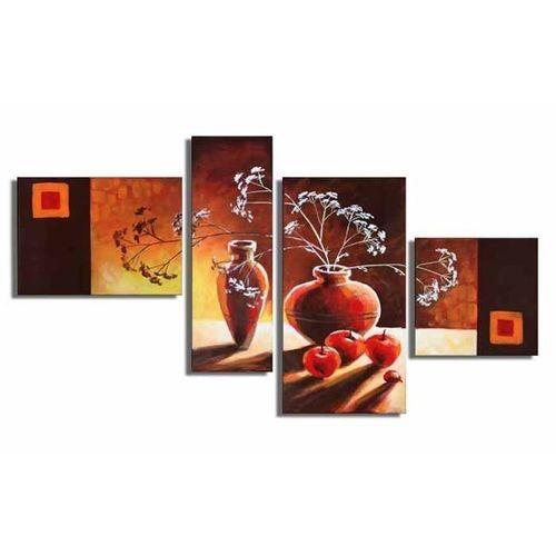 4 Leinwandbilder STILLLEBEN (1) 120 x 70cm Handgemalt - 1