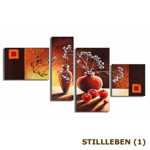 4 Leinwandbilder STILLLEBEN (1) 120 x 70cm Handgemalt - 3