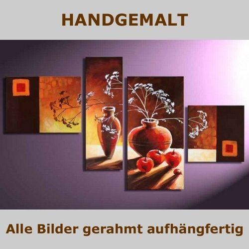 4 Leinwandbilder STILLLEBEN (1) 120 x 70cm Handgemalt - 4