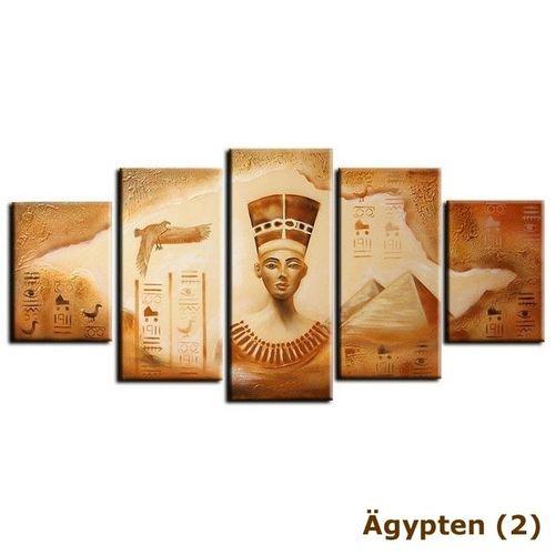 5 Leinwandbilder ÄGYPTEN (1) 150 x 70cm Handgemalt - 4