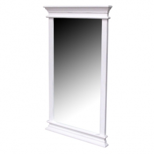 Mahagoni Spiegel JOSEPHINE Antikweiß 120 x 70cm - 3