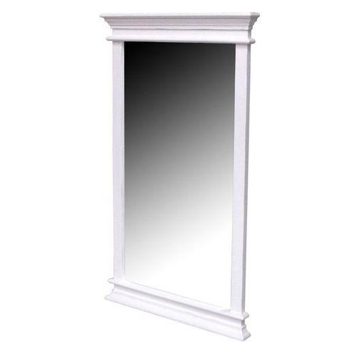 Mahagoni Spiegel JOSEPHINE Antikweiß 70 x 120cm - 1