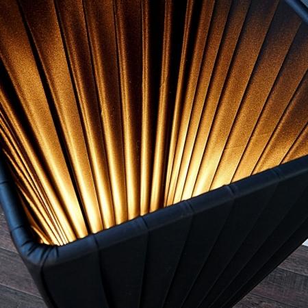 Stehlampe LOOP Schwarz 120cm Höhe - 2
