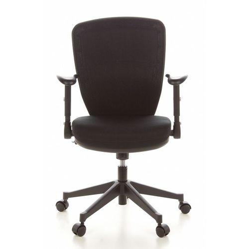 Bürostuhl SOFIA Schwarz aus Netzstoff - 1