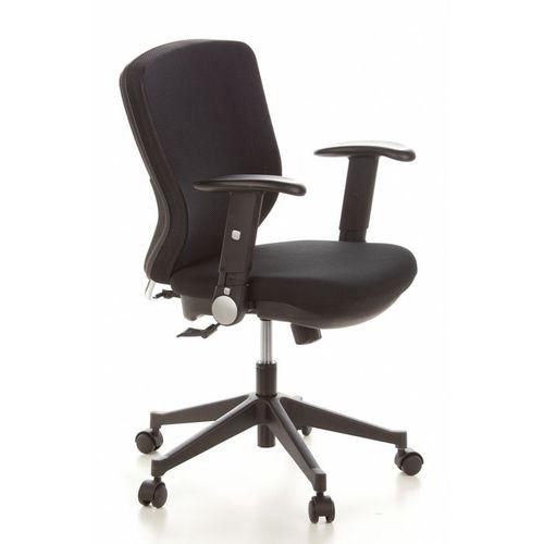 Bürostuhl SOFIA Schwarz aus Netzstoff - 2