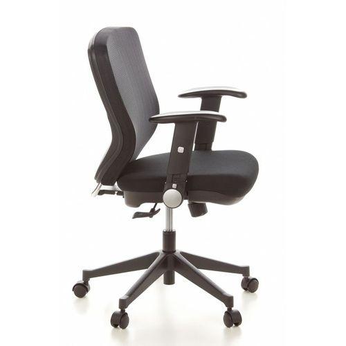 Bürostuhl SOFIA Schwarz aus Netzstoff - 3