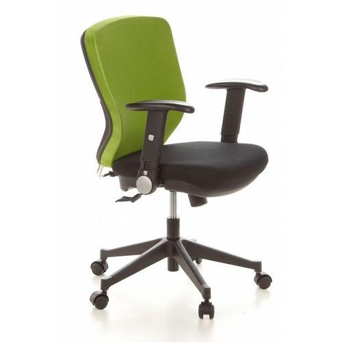 Bürostuhl SOFIA Schwarz-Apfelgrün aus Netzstoff - 2