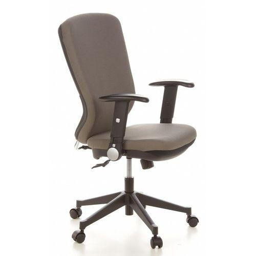 Bürostuhl HELSINKI Schwarz-Grau aus Stoff - 2