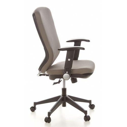 Bürostuhl HELSINKI Schwarz-Grau aus Stoff - 3