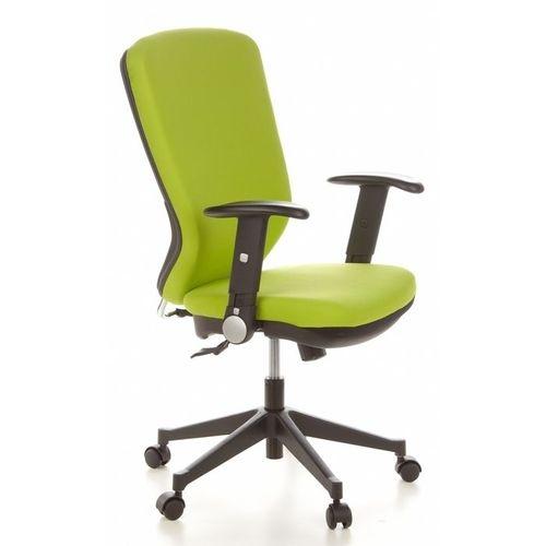Bürostuhl HELSINKI Schwarz-Apfelgrün aus Stoff - 2