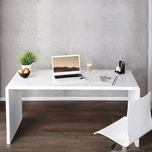 Schreibtisch SOHO Weiß Hochglanz 140cm - 2