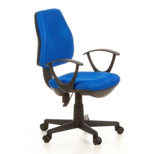 Bürostuhl RIGA Schwarz-Blau aus Netzstoff - 2