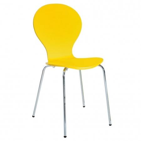 Designklassiker Stuhl JACOBSEN Gelb stapelbar - 2
