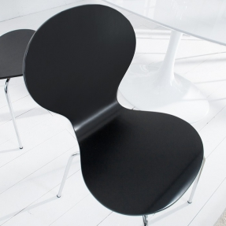 Stuhl JACOBSEN Schwarz - 1