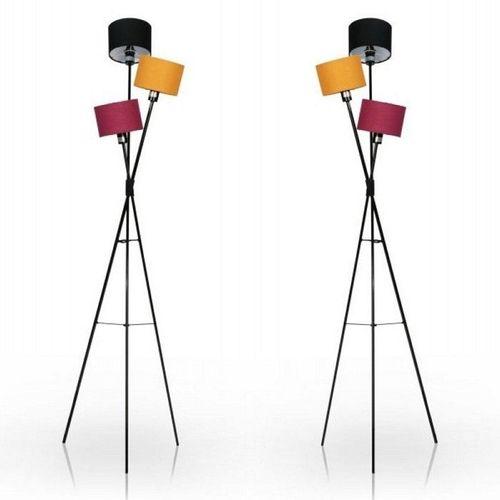 Stehlampe IRIS Schwarz-Bunt 150cm Höhe - 2