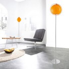 Stehlampe BOLA Orange 160cm Höhe