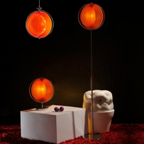 Stehlampe BOLA Orange 160cm Höhe - 3