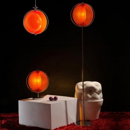 Stehlampe BOLA Orange 160cm Höhe - 4