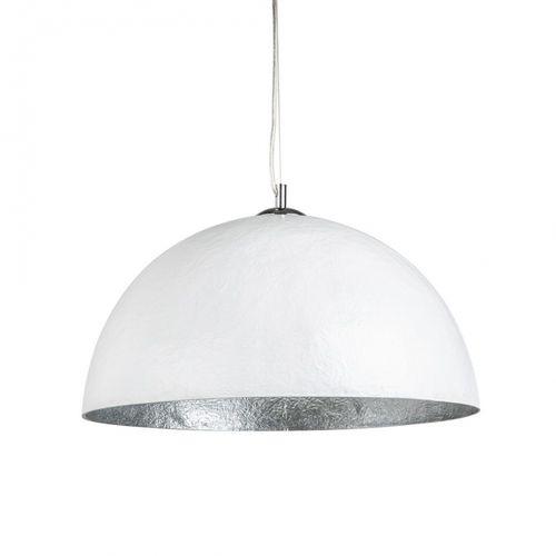 Hängelampe BOL Weiß-Silber 50cm Ø - 2