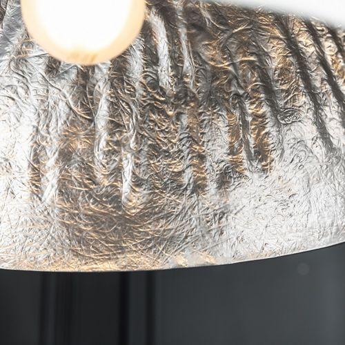 Hängelampe BOL Weiß-Silber 50cm Ø - 3