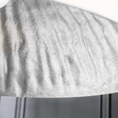 XL Hängelampe BOL Weiß-Silber 70cm Ø - 3