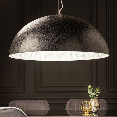 XL Hängelampe BOL Schwarz-Silber 70cm Ø - 1