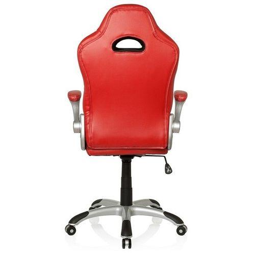 Chefsessel RACING MONZA Rot-Grau-Weiß aus Kunstleder - 8