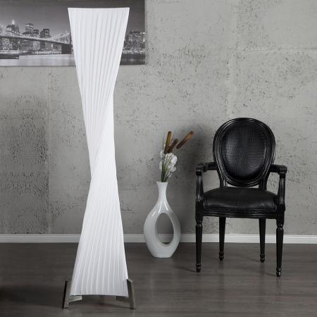 XL Stehlampe LOOP Weiß Kegelform Helix 160cm Höhe - 2