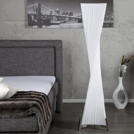 XL Stehlampe LOOP Weiß Kegelform Helix 160cm Höhe - 3