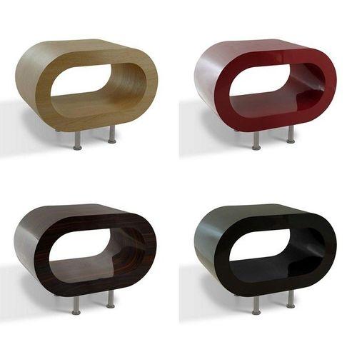 MADE in UK: Retro Lounge TV-Tisch LEO 60cm mit Füßen in 24389 Farbkombinationen! - 2