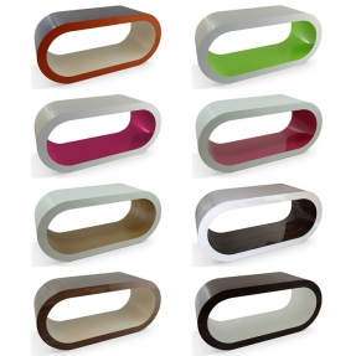 MADE in UK: XXL Retro Lounge TV-Tisch LEO 110cm in 24389 Farbkombinationen! - 1