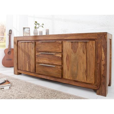 XXL Sideboard AGRA Sheesham massiv Holz gewachst 175cm - 2