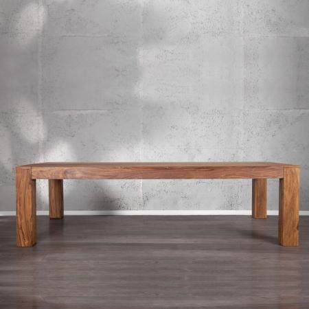 Sitzbank SALEM Sheesham massiv Holz gewachst 160cm - 1