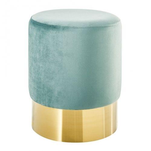 Tischlampe MARE Blau mit Leinenschirm Weiß aus Keramik handgefertigt 60cm Höhe - 2