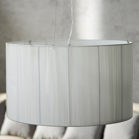Hängelampe LUMA Weiß 60cm Ø - 2