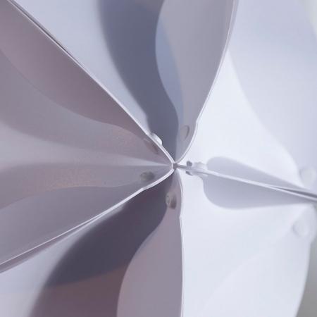 Hängelampe NUCLEUS Weiß 40cm Ø - 4
