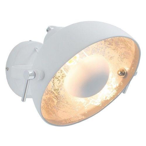 Wandlampe SPOT Weiß-Silber 30cm Ø verstellbar - 2