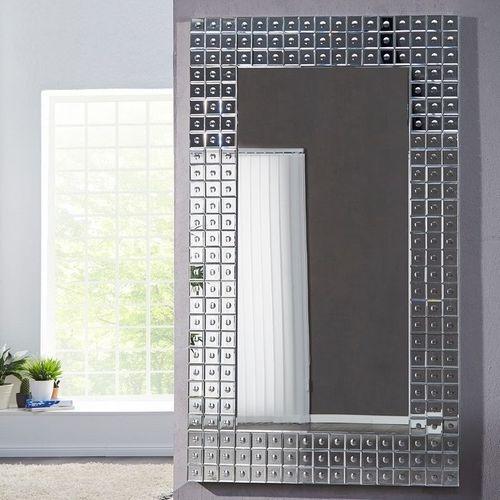 XXL Wandspiegel MONTREAL Silber aus Spiegelfliesen 180cm x 110cm | Vertikal oder horizontal aufhängbar! - 1
