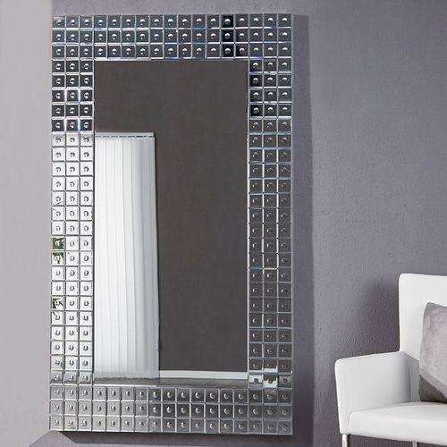 XXL Wandspiegel MONTREAL Silber aus Spiegelfliesen 180cm x 110cm | Vertikal oder horizontal aufhängbar! - 2