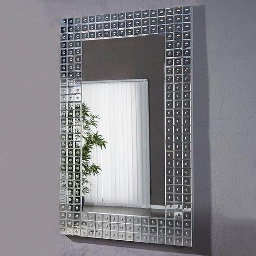 XXL Wandspiegel MONTREAL Silber aus Spiegelfliesen 180cm x 110cm | Vertikal oder horizontal aufhängbar! - 3
