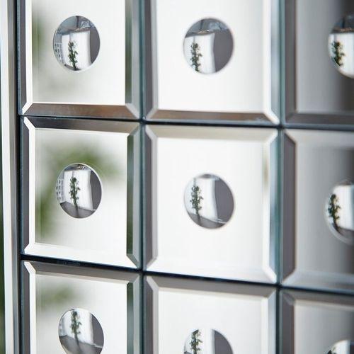 XXL Wandspiegel MONTREAL Silber aus Spiegelfliesen 180cm x 110cm | Vertikal oder horizontal aufhängbar! - 4
