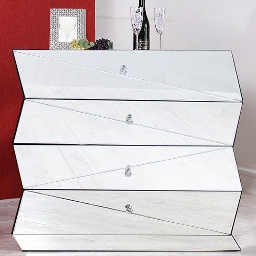 Sideboard FACETTO mit Facettenschliff & 27 Spiegelflächen 100cm - 2