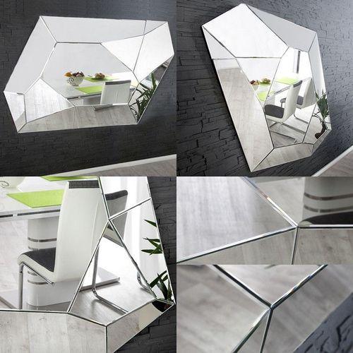 Sideboard FACETTO mit Facettenschliff & 27 Spiegelflächen 100cm - 4