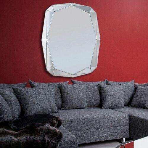 XL Wandspiegel DIAMANT mit Facettenschliff & 20 Spiegelflächen 120cm x 85cm - 1